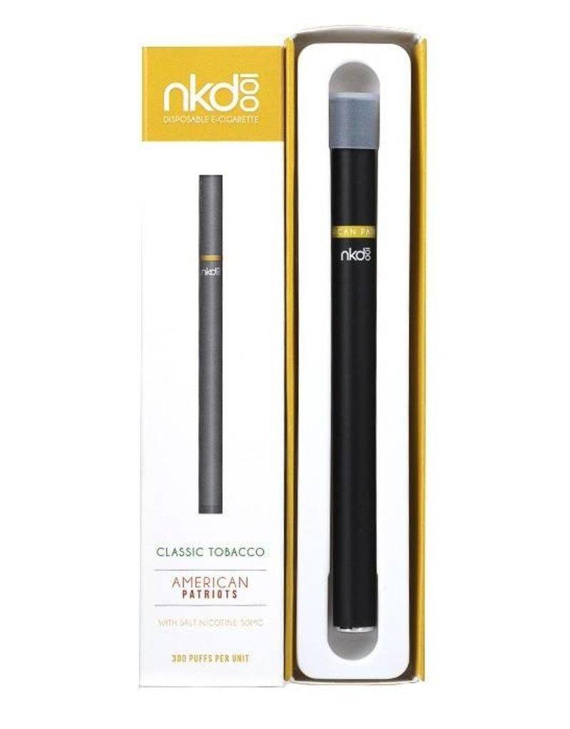 NKD 100 Disposable E-Cig | American Patriots | 50mg