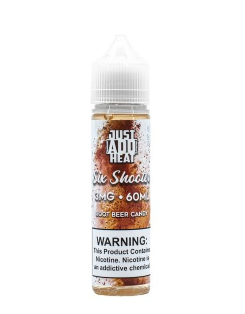 Just Add Heat E-Liquid | Six Shooter