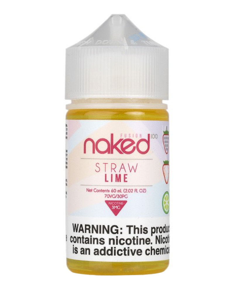 Naked 100 | 60ml | Straw Lime |