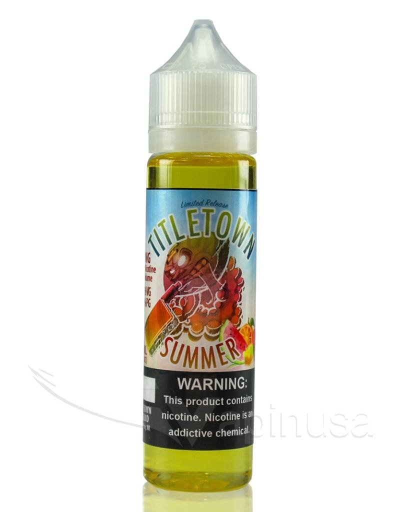 TitleTown E-Liquid | 60ml | Summer