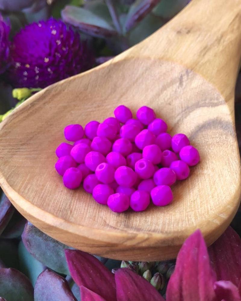 Firepolish 4mm : Neon Purple
