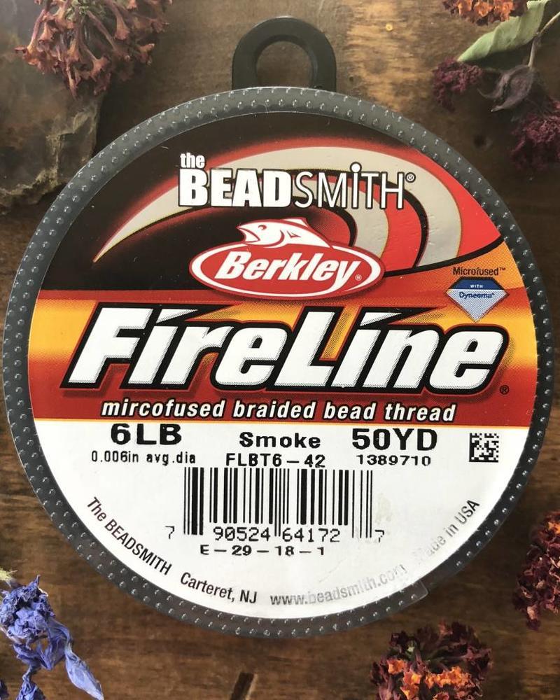 6 LB FIRELINE SMOKE GREY .006 IN/.15MM DIA 50 YRD