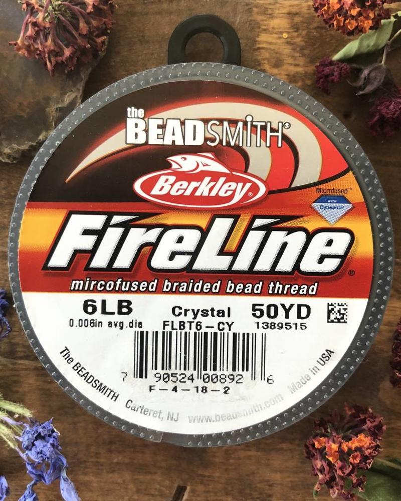 6 LB FIRELINE CRYSTAL .006 IN/.15MM DIA 50 YRD