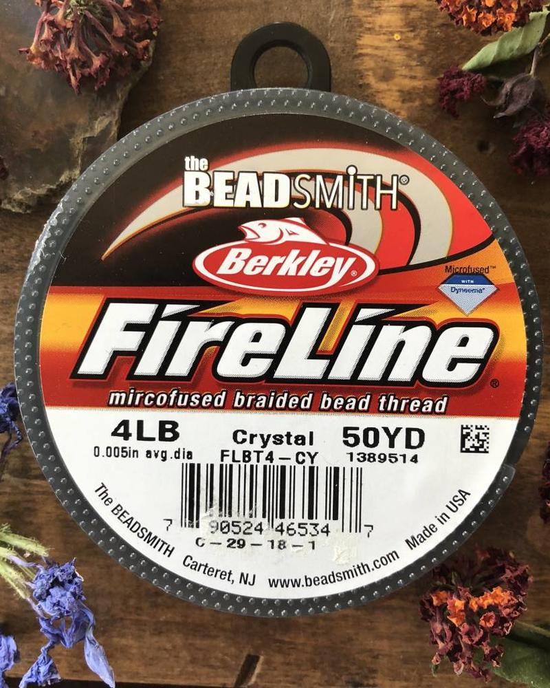 4 LB FIRELINE CRYSTAL .005 IN/.12MM DIA 50 YRD