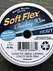 Soft Flex Soft Flex Beading Wire - Satin Silver- Heavy 30ft.