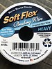 Soft Flex Soft Flex Beading Wire - Satin Silver- Heavy 10ft.