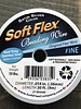 Soft Flex Soft Flex Beading Wire - Satin Silver- Fine 30ft.