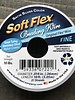 Soft Flex Soft Flex Beading Wire - Satin Silver- Fine 10ft.