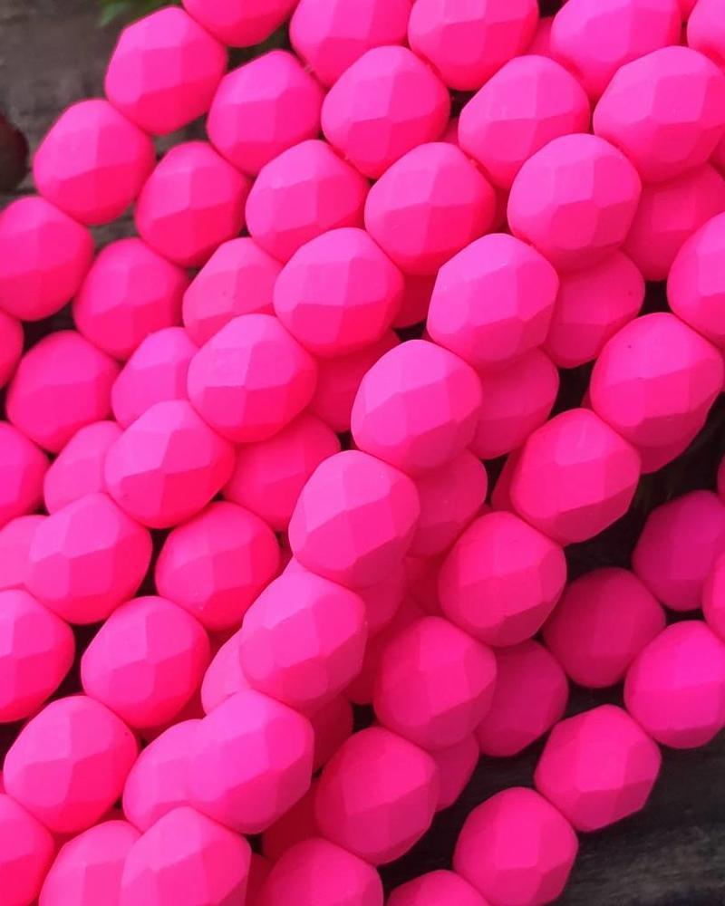 Firepolish 6mm : Neon Pink