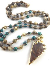 Class: Boho Knotted Necklace