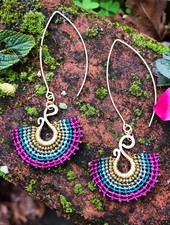 Class: Macrame Fan Earrings
