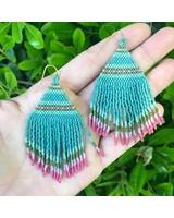 Class: Beaded Fringe Earrings
