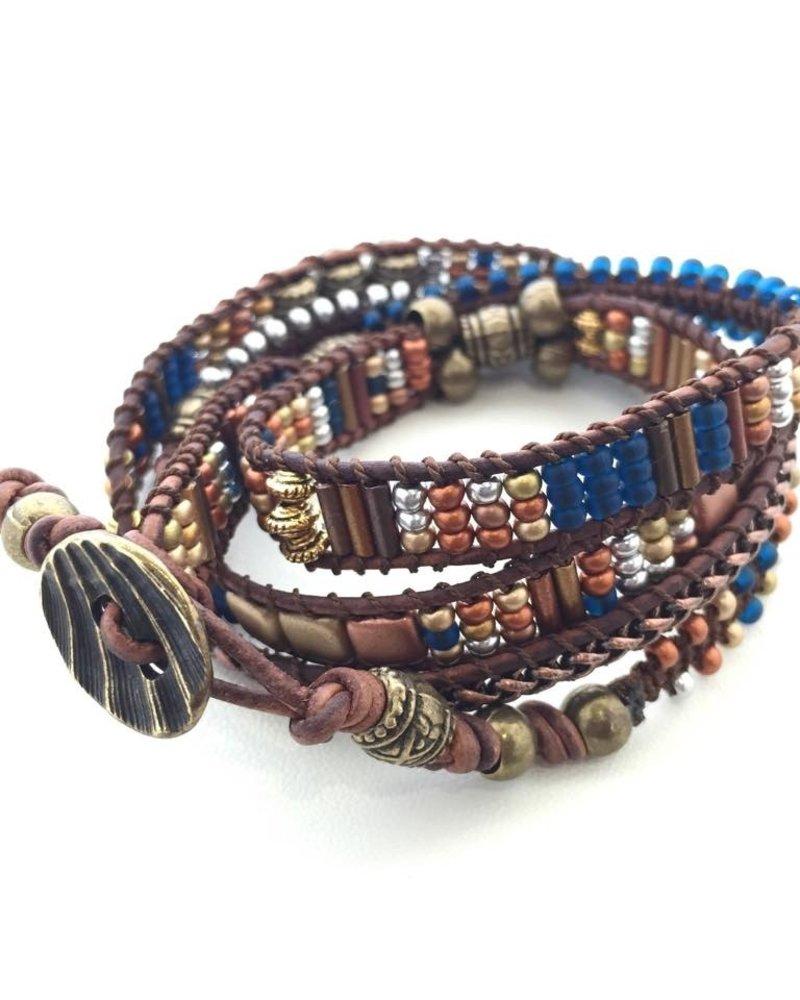 Class: Random Wrap Bracelet April 13th, Saturday 11:30am-2:30pm