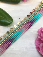 Class: Layered Loom Bracelet