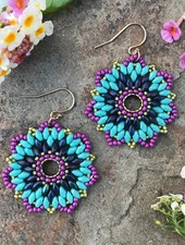 Class: Flower Earrings or Pendant