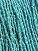 SIZE 11/0 #496 Green Turquoise Rainbow