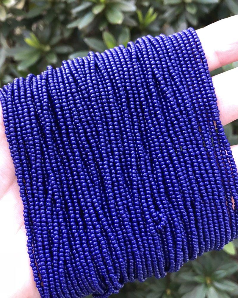SIZE 11/0 #123 Navy Blue