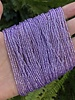 SIZE 11/0 #1192 Brite Amethyst Silver Lined