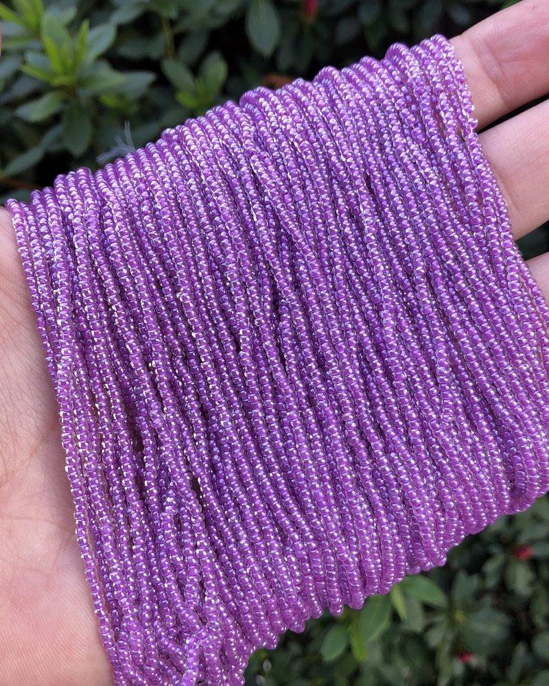 SIZE 11/0 #175 Crys/Purple LN