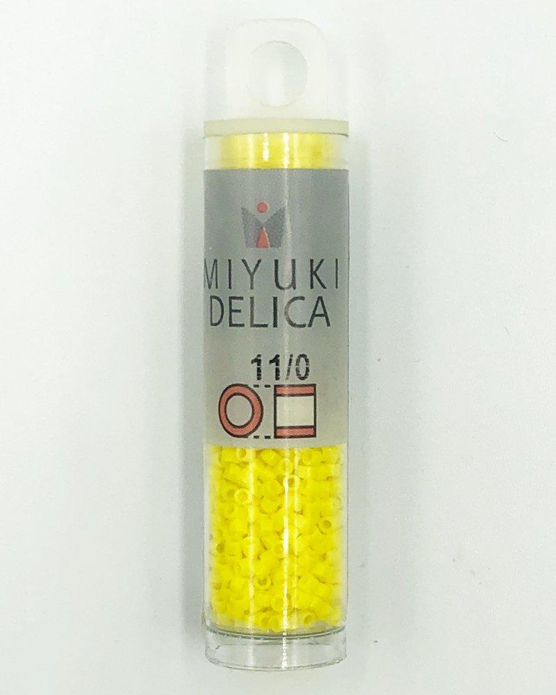 Miyuki 11/0 DELICA OPAQUE YELLOW