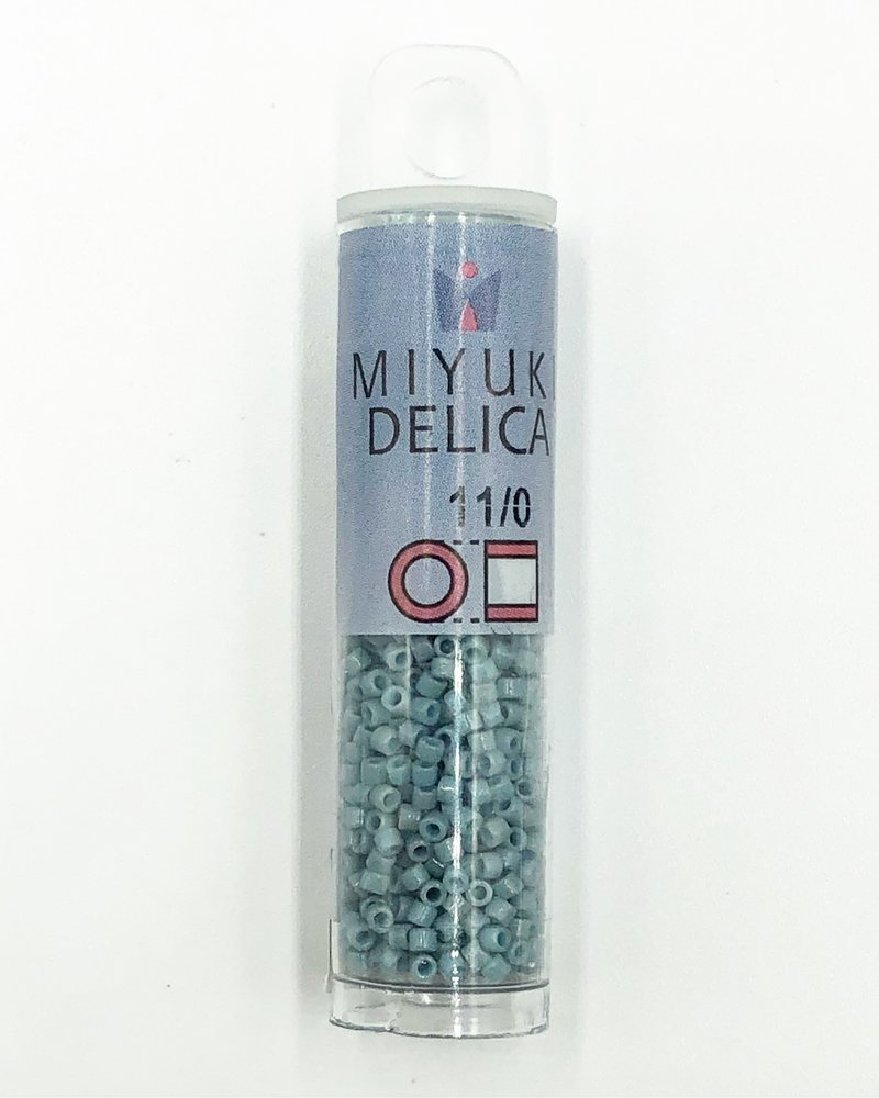 Miyuki 11/0 DELICA DURACOAT OPQ MOODY BLUE
