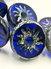 22mm Sun Coin- Transparent Sapphire Picasso