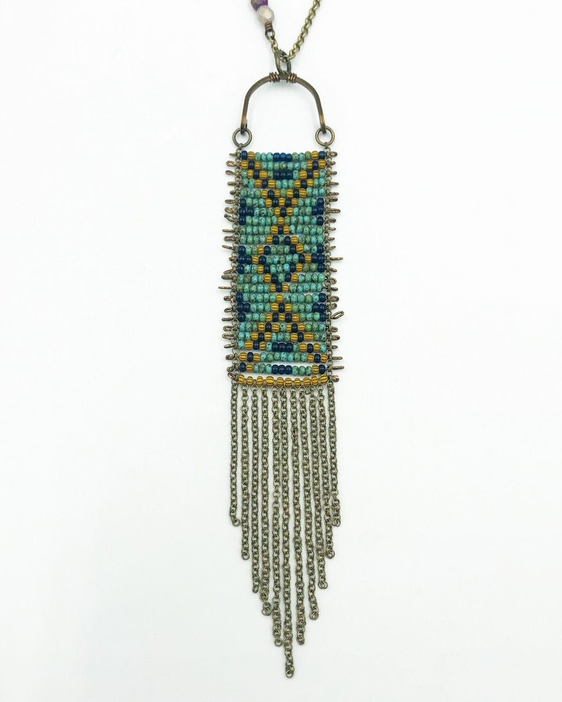 Class: Tapestry Pendant, August 25, Sunday 11:30am-2:00pm