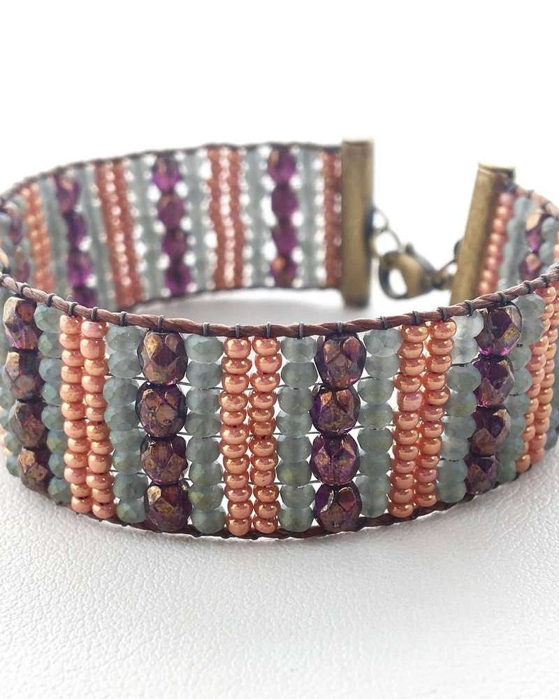 Class: Loom Woven Bracelet, August 10, Saturday 11:30am-2:00pm