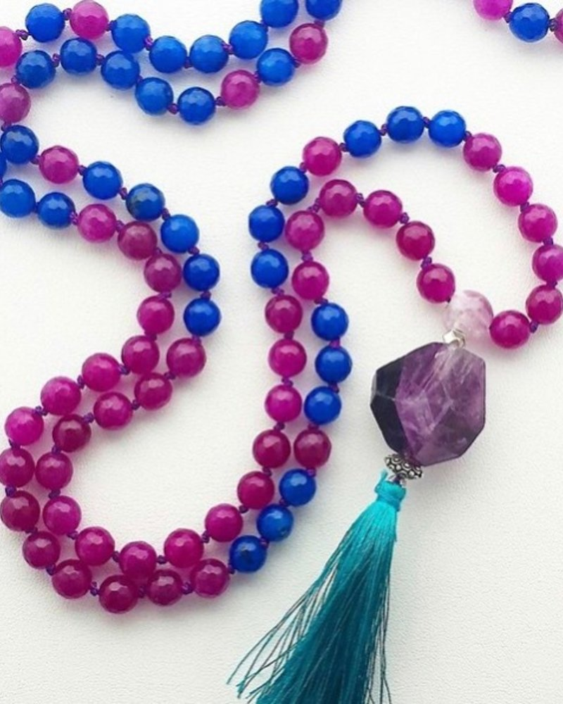 Class: Mala Necklace August, 3 Saturday 2:30pm-5:00pm