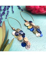 Class: Cluster Coin Earrings August, 2 Friday 6:00pm-8:00pm