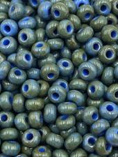 SIZE 6/0 #1413 Blue Travertine