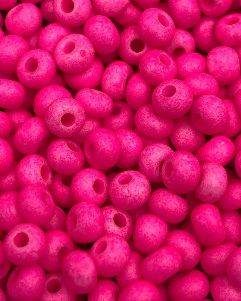 SIZE 6/0 #1444m Matte Neon Pink (COATING)