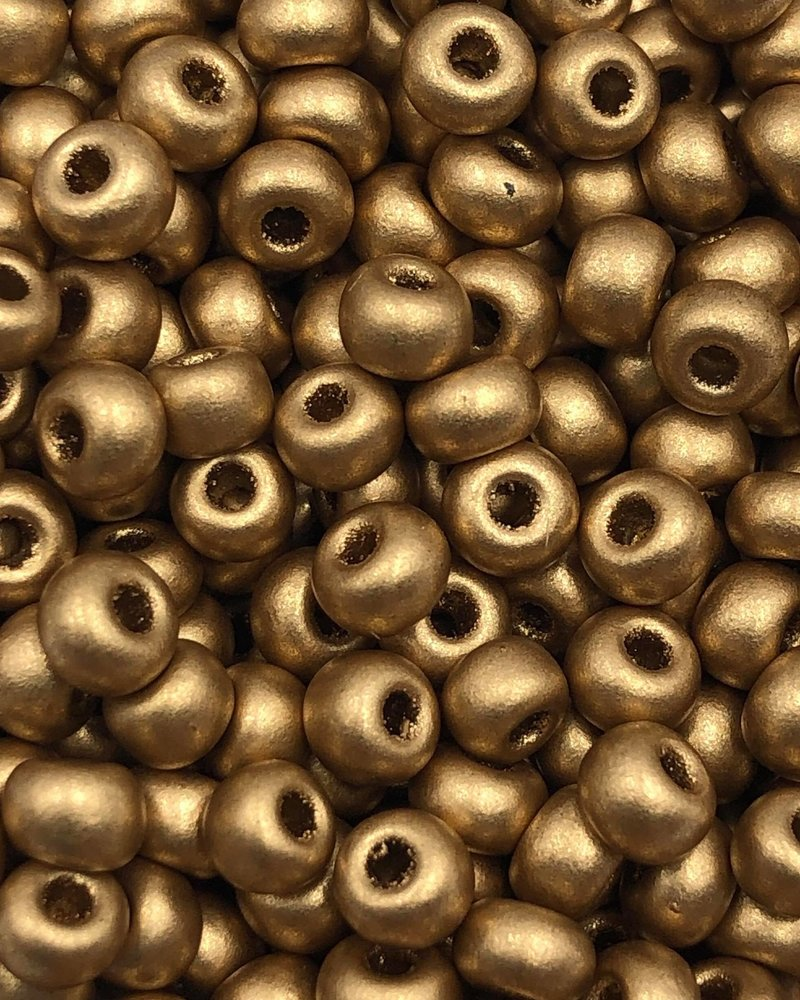 SIZE 6/0 #591 Lt. Gold Supra Metallic