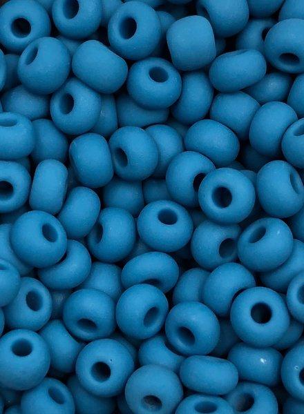 SIZE 6/0 #195m French Blue Matte