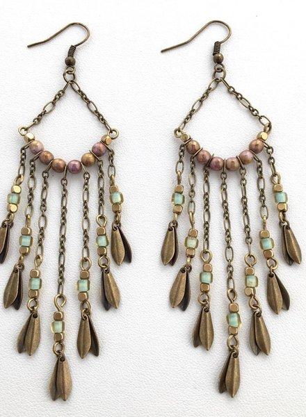 Class: Chandelier Earrings November 7th, Thursday 6:00pm-8:30pm