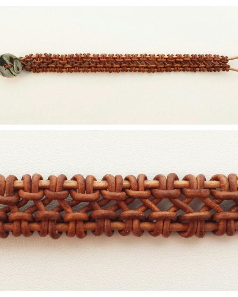 Class: Knotted Leather Cuff November 2nd, Saturday 2:30pm-5:00pm