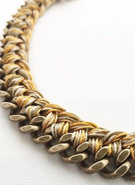 Class: Braided Chain Bracelet November 23rd, Saturday 2:30pm-5:00pm