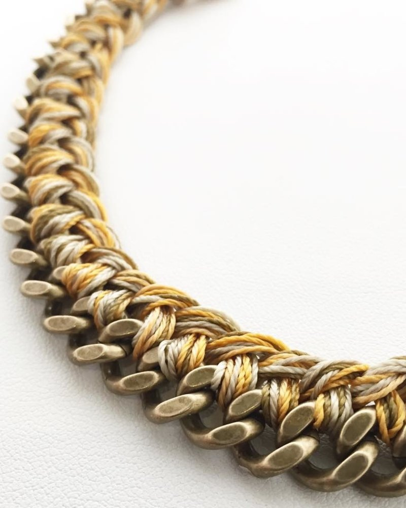 Class: Braided Chain Bracelet November 23rd, Saturday 2:30pm-5:00pm