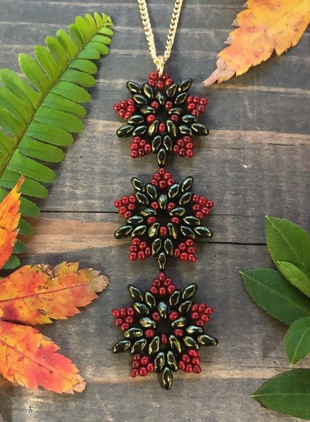 Class: Snowflake Earrings & Necklace November 23rd, Saturday 11:30am-2:00pm