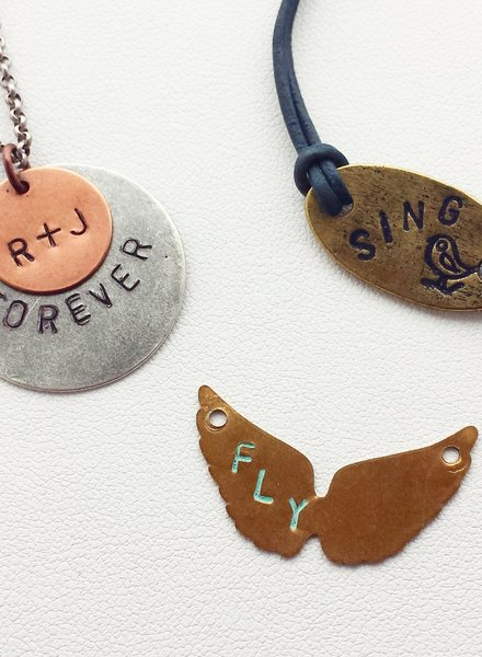 Class: Metal Stamping November 12th, Tuesday 6:00 pm - 8:30 pm
