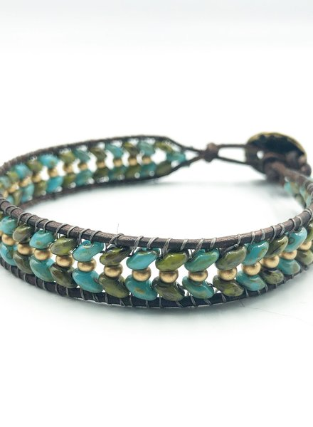 Class: Superduo Wrap Bracelet December 20th, Thursday 6:00pm-8:30pm