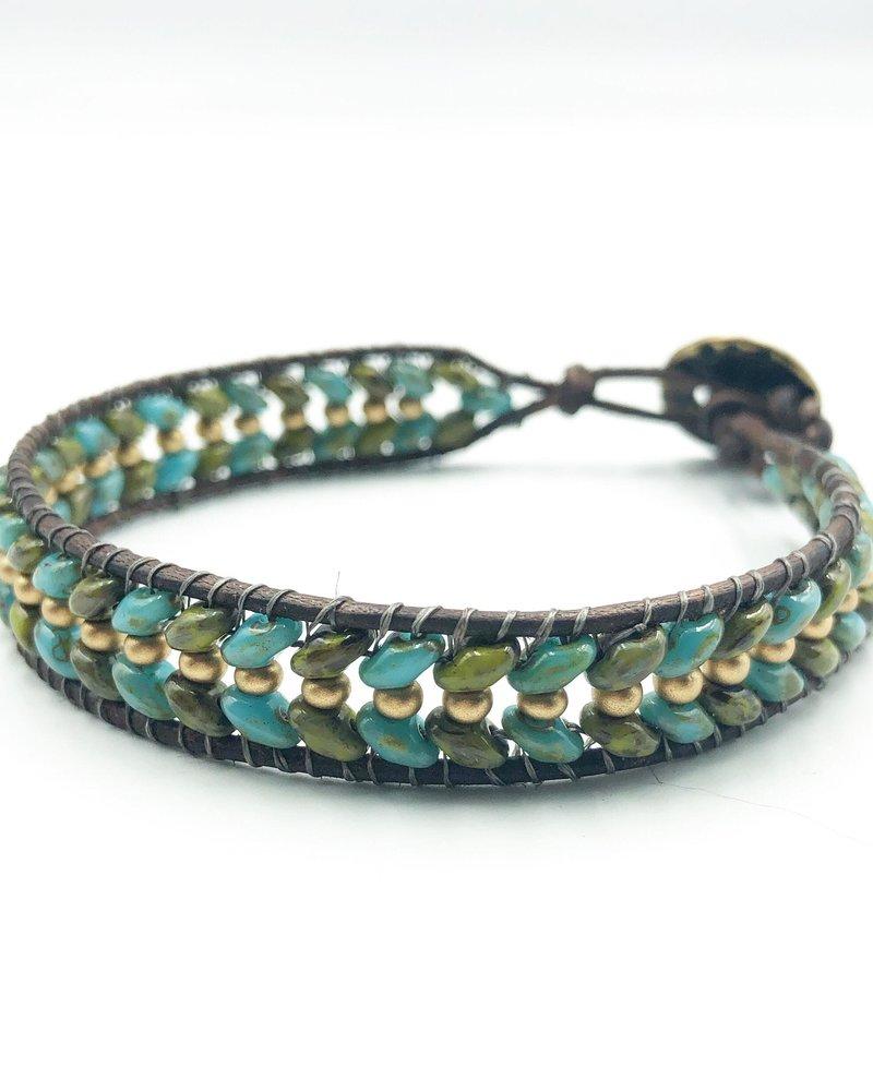 Class: Superduo Wrap Bracelet December 20th, Thursday 6:00pm-8:30pm
