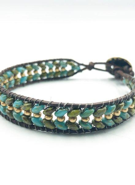 Class: Superduo Wrap Bracelet October 17th, Thursday 6:00pm-8:30pm