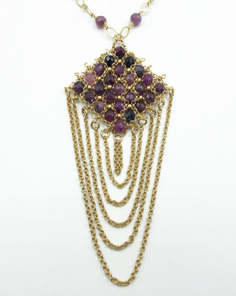Class: Lacy Chain Pendant December 8th, Sunday 11:30am-2:30pm