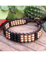 Beads N' Brews: Beaded Leather Cuff November 21st, Thursday 6:00pm-8:30pm