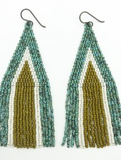 Class: Triangle Fringe Earrings February 9th, Sunday 11:30am-2:00pm