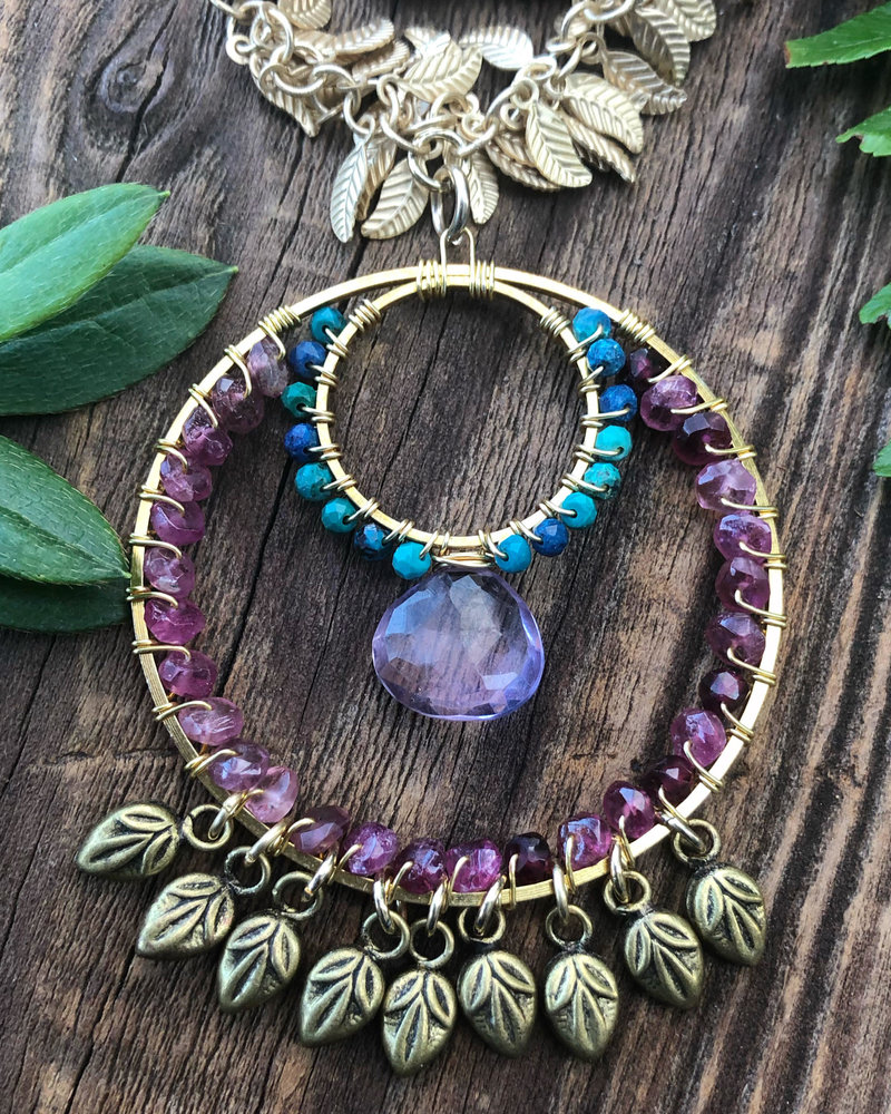 Class: Boho Loop Pendant March 28th, Saturday 11:30am-2:00pm