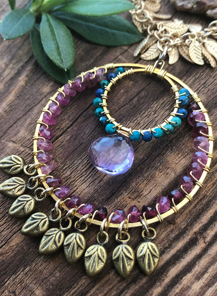 Class: Boho Loop Pendant February 2nd, Sunday 11:30am-2:00pm