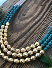 Class: Three Strand Necklace March 5th, Thursday 6:00pm-8:30pm