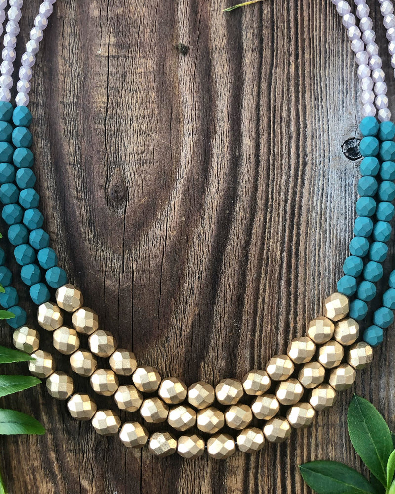 Class: Three Strand Necklace March 5th, Thursday 6:00pm-8:00pm